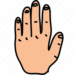 back, business, fingers, gesture, hand icon