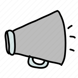 announce, business, honk, invite, sound icon