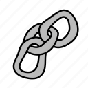 business, chain, connect, link, share icon