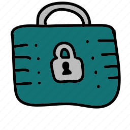 business, lock, private, safety, security icon