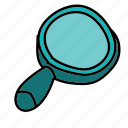 business, find, look, magnifier, research, search icon