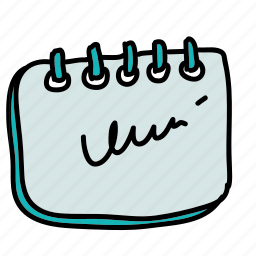 appointment, business, calender, deadline, meeting, notes icon