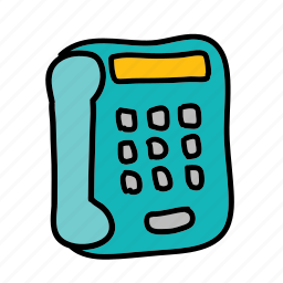 business, call, connect, electronics, phone, technology icon