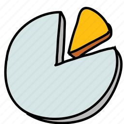 business, chart, pie, presentation, statistics icon