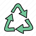 business, preserve, recycle, reduce, save, guardar icon