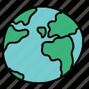 business, circle, global, round, world