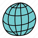 business, circle, global, grid, round, world icon