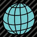 business, circle, global, grid, round, world
