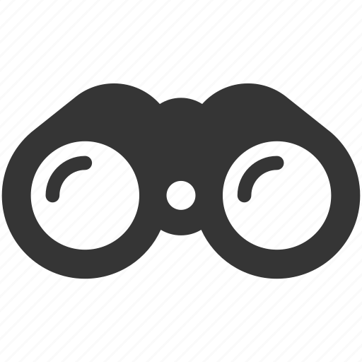 binoculars, find, forecast, research, search, view, zoom icon