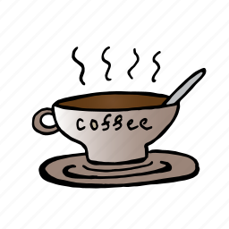 break, coffee, couple of coffee, have a time, office, pause, time icon