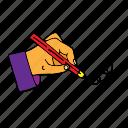 drawing, hand, pencil, writing, edit, gesture, pen