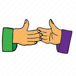 agreement, closing the deal, deal, friends, handshake, make a deal, okay icon