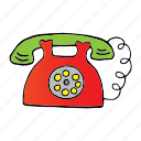 alert, business, communication, office, readiness, ring, telephone icon