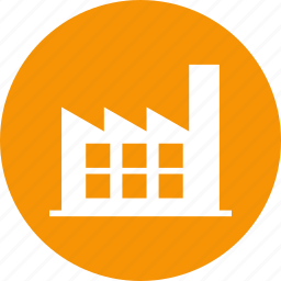 factory, industrial, industry, plant, power, production, work icon