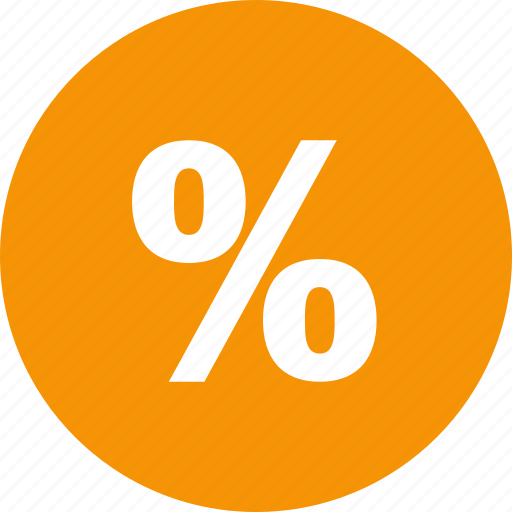discount, finance, money, percent, percentage, shopping icon