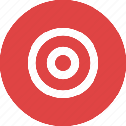 aim, direction, goal, location, target icon