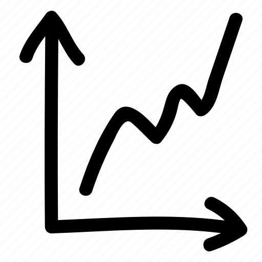 analytics, business, chart, graph, line chart, statistics icon