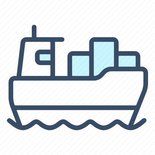business, delivery, logistics, sea, ship, shipping cargo, transportation icon