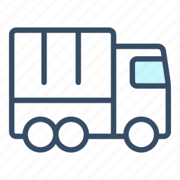 business, delivery, logistics, lorry, transportation, truck icon