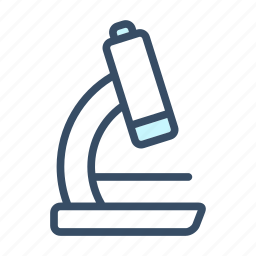 business, chemistry, education, laboratory, measure, microscope, science icon