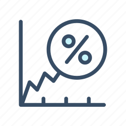 analysis, business, gain, growth, increase, profit icon