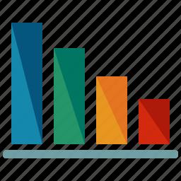 analytics, bars, business, chart, marketing, presentation, statistics icon