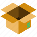 box, business, delivery, package, present, shipping icon