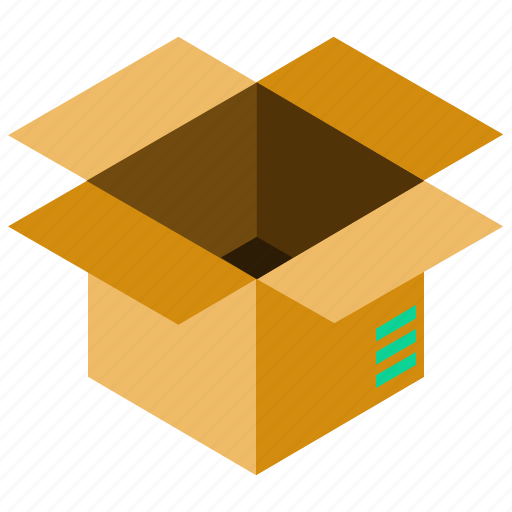 box, delivery, shipping, storage icon