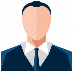 avatar, business, man, user icon