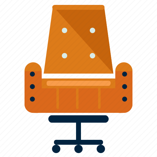 Chair, furniture, office, seat icon - Download on Iconfinder