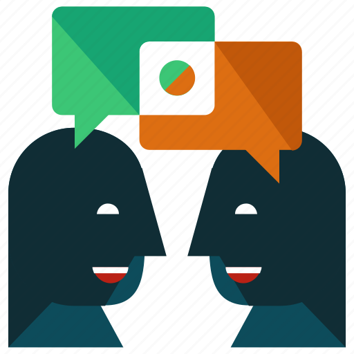 business, chat, communication, conversation, dialogue, marketing, talk icon