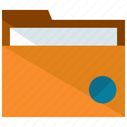 archive, business, files, folder icon