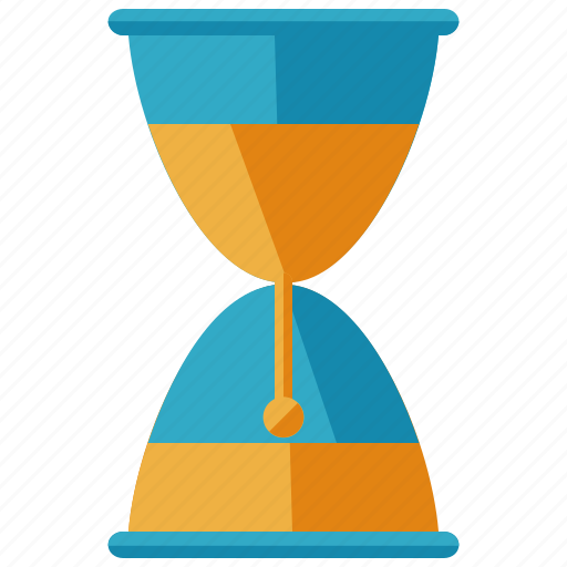 business, hourglass, loading, time icon