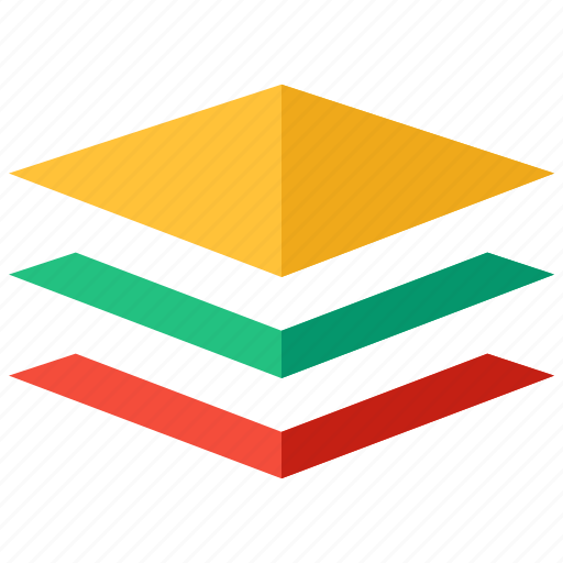 business, design, layer icon