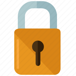 business, lock, locked, marketing, padlock, secure, security icon