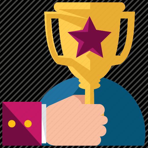 award, business, marketing, prize, reward, trophy icon