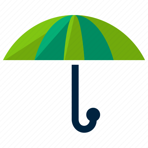 business, insurance, protection, umbrella icon