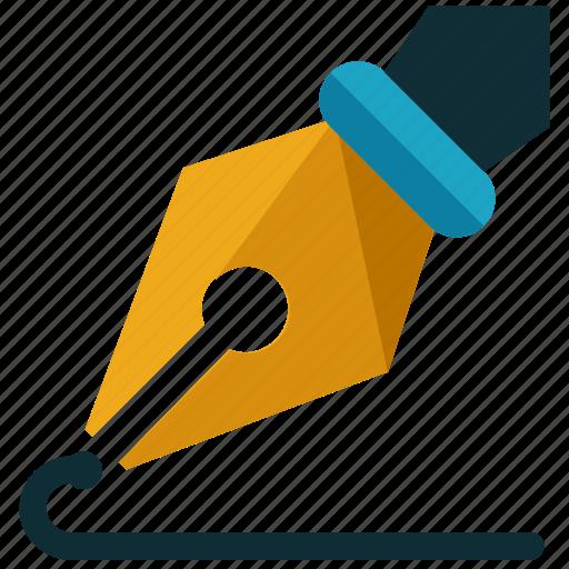 business, marketing, pen, sign, signature, write icon
