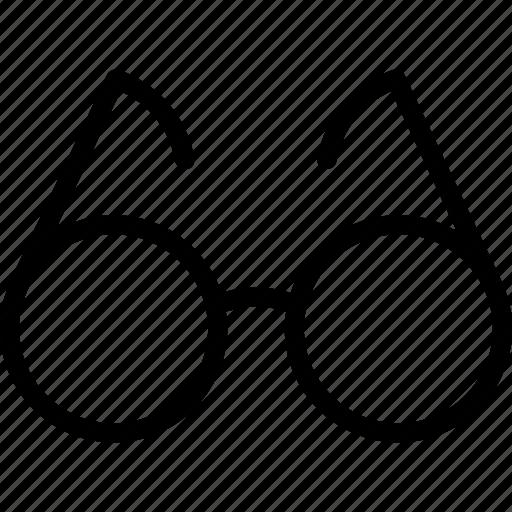 business, eye, eyeglasses, frame, glasses, reading, wear icon