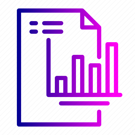 analysis, card, financial, report, reporting, valuation icon