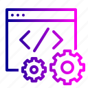 code, data, editor, optimization, settings, site