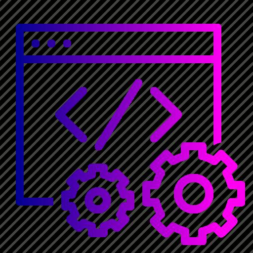 code, data, editor, optimization, settings, site icon