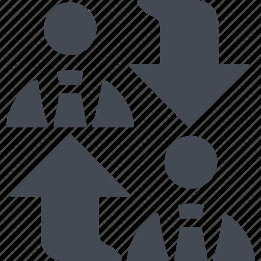 business, communication, conversation, marketing icon
