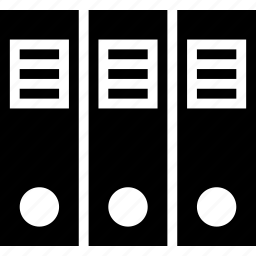 arrangement, file, filing icon