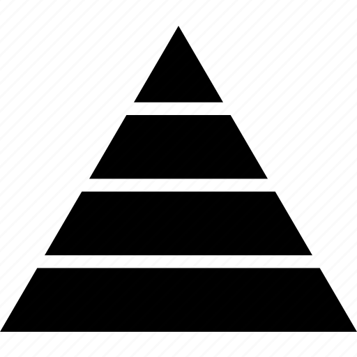 Levels, pyramid, tiers, triangle icon - Download on Iconfinder