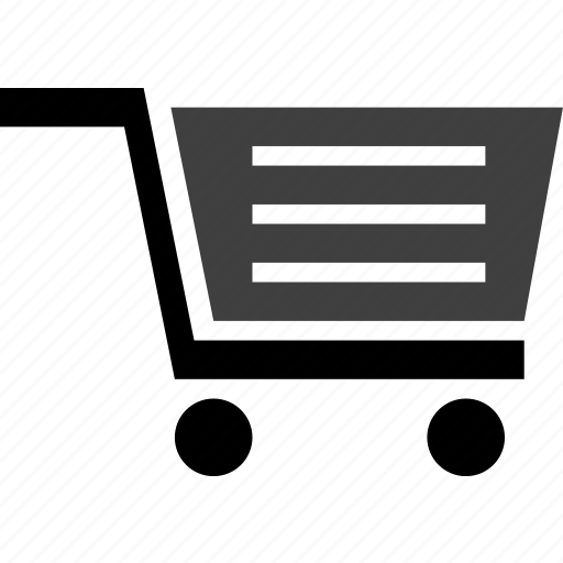 carry, cart, push, roll, shopping, trolley icon