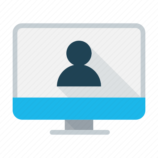 business, chat, conference, dialogue, presentation, video conference, webinar icon