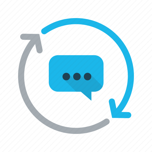 business, chat, communication, conversation, message icon
