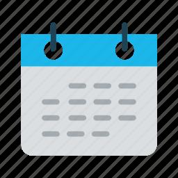 business, calendar, date, day, plan, planning, schedule icon