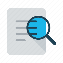 annual report, article, business, case study, publication, report icon